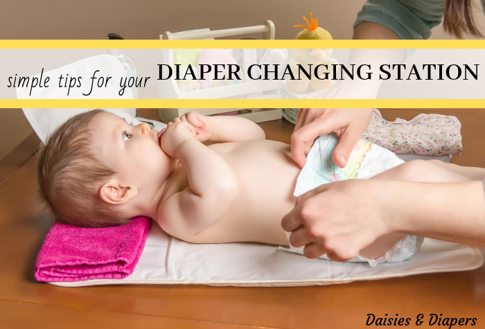 changing table organization tips