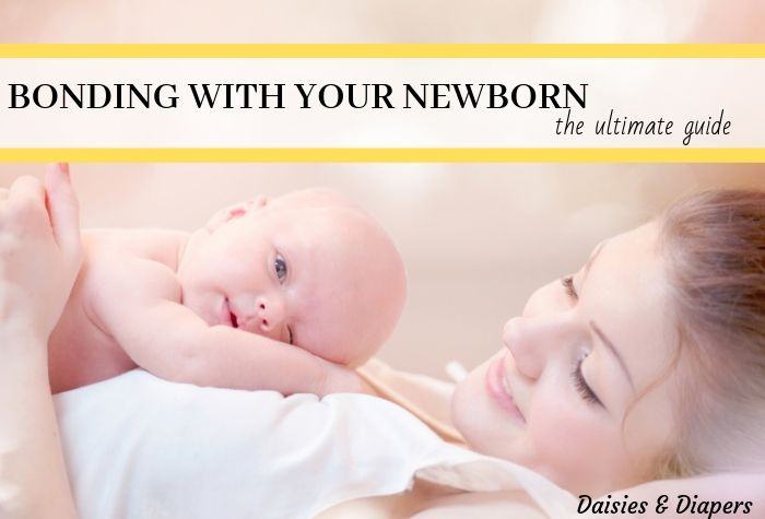How to bond with your newborn baby