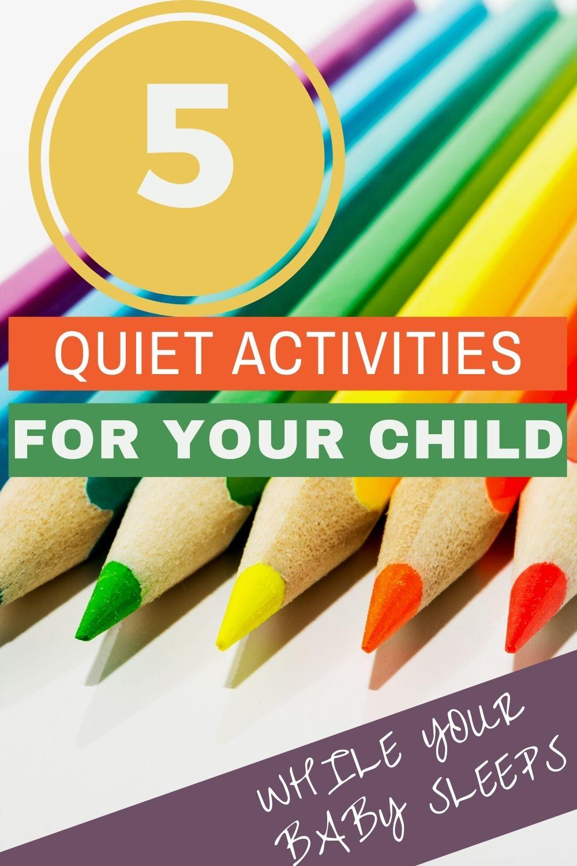 quiet toddler activities