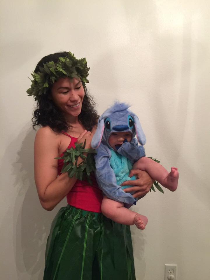 Lilo and Stitch mom and baby costume