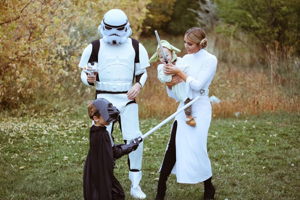 Star Wars family costumes