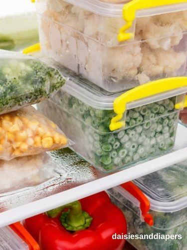 baby prep freezer meals